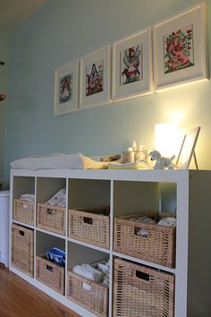 """changing table? - it would be too short for us.. use the Hemnes dresser instead... upon further reflection, can add 8"""" legs to it and it becomes taller than the Hemnes. this is what we purchased."""