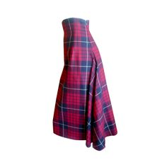 "Alexander McQueen Tartan high waisted Skirt ""widows of Culloden"""