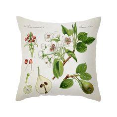 Fruit & Flowers Pillow Cover | dotandbo.com