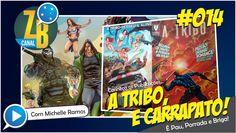 """Pau, Porrada, e Briga! Conheça duas novas edições nacionais estreladas por Heróis Brasileiros, A Tribo, Perseu e Aline! Confira as Revistas """"A Tribo"""" de Juni..."""