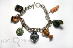 Horcruxes charm bracelet