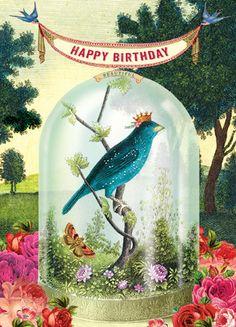 Cartolina - Cartolina card - Happy Birthday CC253