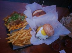 Bop 'n Grill in Chicago - burgers and kimchi fries