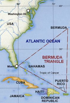 What Are Some Bermuda Triangle Theories That Help Explain the