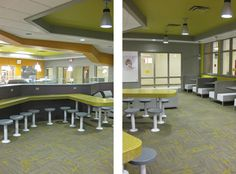 GRPS City High Student Cafe, MI | Seating and Serving