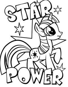 15 Best My Little Pony Coloring Pages Images On Pinterest In 2018