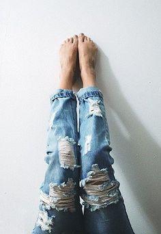 boyfriend jeans ♥