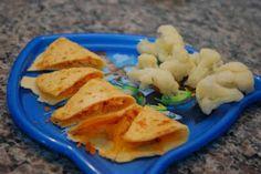 Quesadillas & Cauliflower