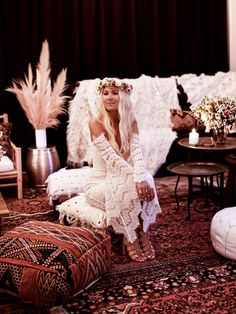 GypsyLovinLight Birthday Party Styling - Pretty Willow Flowers - A Little Bohemia Lighting - Micktric Events Photography - Bobby Bense
