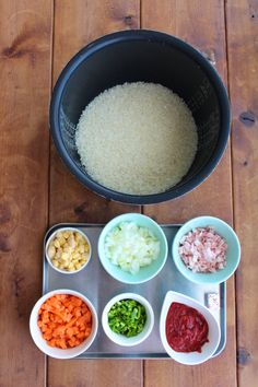 Rice Cooker Recipes, Cooking Recipes, Kitchenware, Food And Drink, Yummy Food, Table, Books, Recipes, Libros