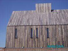 Houten gevel bekleding -  abdij Herkenrode, Limburg