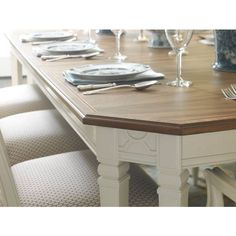 Charleston Regency-Drayton Eight-Leg Dining Table - Stanley Furniture