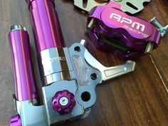 Purple BGM SUPERCHARGED / RPM Racing Front End Uprade Kit for Honda Ruckus / ZOOMER / DIO $549.99  Free express shipping (worldwide) @ www.facebook.com/BadAssScootDude Honda Ruckus Parts, Can Opener, Racing, Purple, Kit, Facebook, Free, Running, Auto Racing