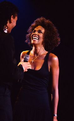 Whitney Houston and that smile !!