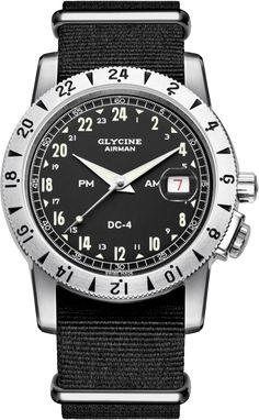 "Glycine - Airman ""Vintage 1953"" DC4 - Ref. 3904.19.24H TB9"