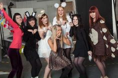 Animal themed fancy dress in aid of Children In Need 2013