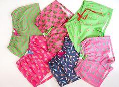 Boys Pajamas, Pyjamas, Boxers, Boho Shorts, Swimwear, Prints, Women, Fashion, Bathing Suits