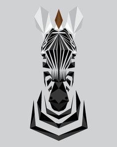 geometric zebra - Google Search