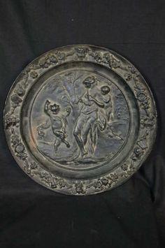 Berliner Eisenteller, Mitte 19. Jahrhundert, Venus  in Antiquitäten & Kunst, Metallobjekte, Eisen | eBay!