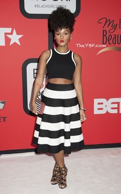 Janelle Monae Black Girls Rock Event