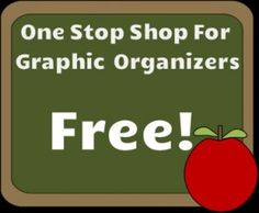 One stop shop for free graphic organizers!