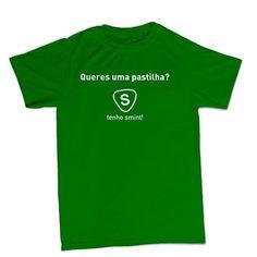 T-shirt Queres uma pastilha BTU0047 **beezarre**