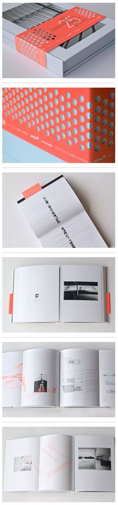 slashes, not perf in band. Veinticinco obras, 25 años. Jofebar by Blanca Prol, via Behance