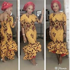 Love wearing Ankara? If yes, try some of the latest Ankara styles we have lined up for you today. They are sexy, sassy and look absolutely gorgeous.If you are gearing up for a prom or a wedding, the mermaid style Ankara is the perfect way to rock your amazing curves. They are elegant,...