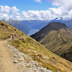 Best Mountain Scenery Hike: Kepler Track, Fiordland National Park, South Island...top 10 hikes in New Zealand