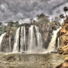 Queda de Água do rio Keve- Angola