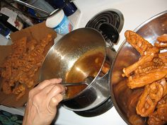 Nonna's house: Making scalille