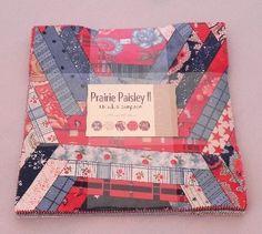 prairie paisley II Layer Cake £26.95