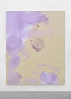 JULIAN SCHNABEL Later That Day, 1990 Oil, gesso, stain on tarpaulin, 243,8 x 193 cm