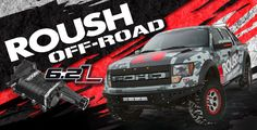 ROUSH Off-Road Pinned by Tindol Ford, Authorized ROUSH Dealer in North Carolina. http://tindolford.com