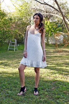 White Mini Dress Sleeveless Dress White Sundresses for Beach