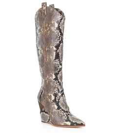 1244b7a767a ... Luxella Hotfix Embellishment Over the Knee Boots. See more. Jessica  Simpson Havrie Wedge Snake Boots Jessica Simpson Boots