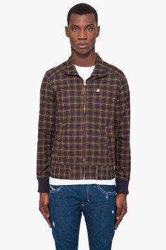 G-Star // Plaid Fleet Mountain Jacket $220