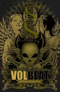 Volbeat... Can't wait for this FREE concert on March 10! Michael is SO pumped!
