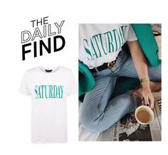 """Daily Find: New Look T-Shirt"" by polyvore-editorial ❤ liked on Polyvore featuring DailyFind"