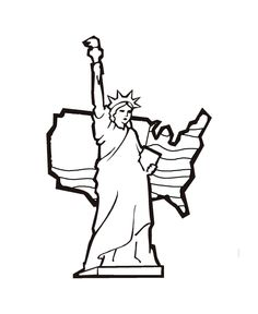 statue of liberty learning activities the statue of liberty coloring page