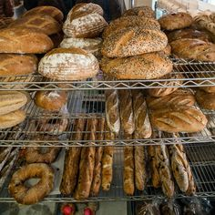 Baguettes and other breads at Silver Moon Bakery, which is co-owned and operated by Judith Norell, who retired as a concert harpsichordist to become a baker. (Photo: Devin Yalkin for The New York Times)