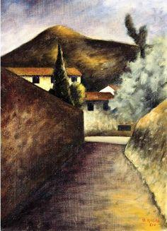Ottone Rosai - Via delle Lame, 1936