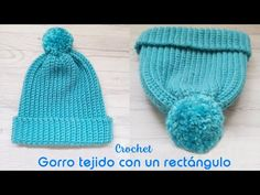 Hoy los invito a tejer este gorro a crochet para principiantes tejido con un rectángulo. Súper fácil y rápido de tejer. Espero que les guste. Crochet For Beginners, Crochet Baby, Crochet Projects, Knitted Hats, Knitting, Crochet Cap, Quilt, Crochet Dolls, Crochet Beanie Pattern