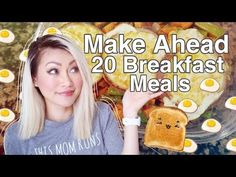 Make A Head Freezer Breakfasts: 20 Servings, 3 Meals - YouTube