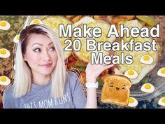 Make A Head Freezer Breakfasts: 20 Servings, 3 Meals - YouTube