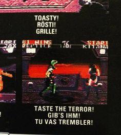 Back of box from #Midway #MortalKombat II #Sega #GameGear - the translation though.  #Toasty #MortalKombatII #SegaGameGear #CIB #CIBSunday #retromaniac #Dortmund #RetroGamer #Reptile #Kitana http://ift.tt/2pMq07m