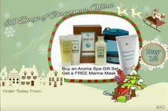 Create the spa at home. Aroma spa creates the perfect pamper . Melt away aches and pains with the bath salts, body wash & massage lotion. Order today and get a free marine mask. Marine Day, Forever Living Business, Christmas Offers, Massage Lotion, Forever Aloe, Forever Living Products, Spa Gifts, Home Spa, Bath Salts