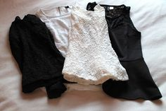 MilaLanusa´s Beauty and Fashion World: Black and Whitehaul