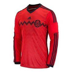 ADIDAS MEXICO LONG SLEEVE AWAY JERSEY FIFA WORLD CUP BRAZIL 2014.