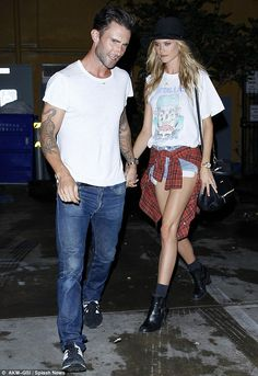 Coming up: Behati and Adam, seen out for dinner August 6, are also anticipating the release of Maroon 5's next album, V, which is scheduled ...